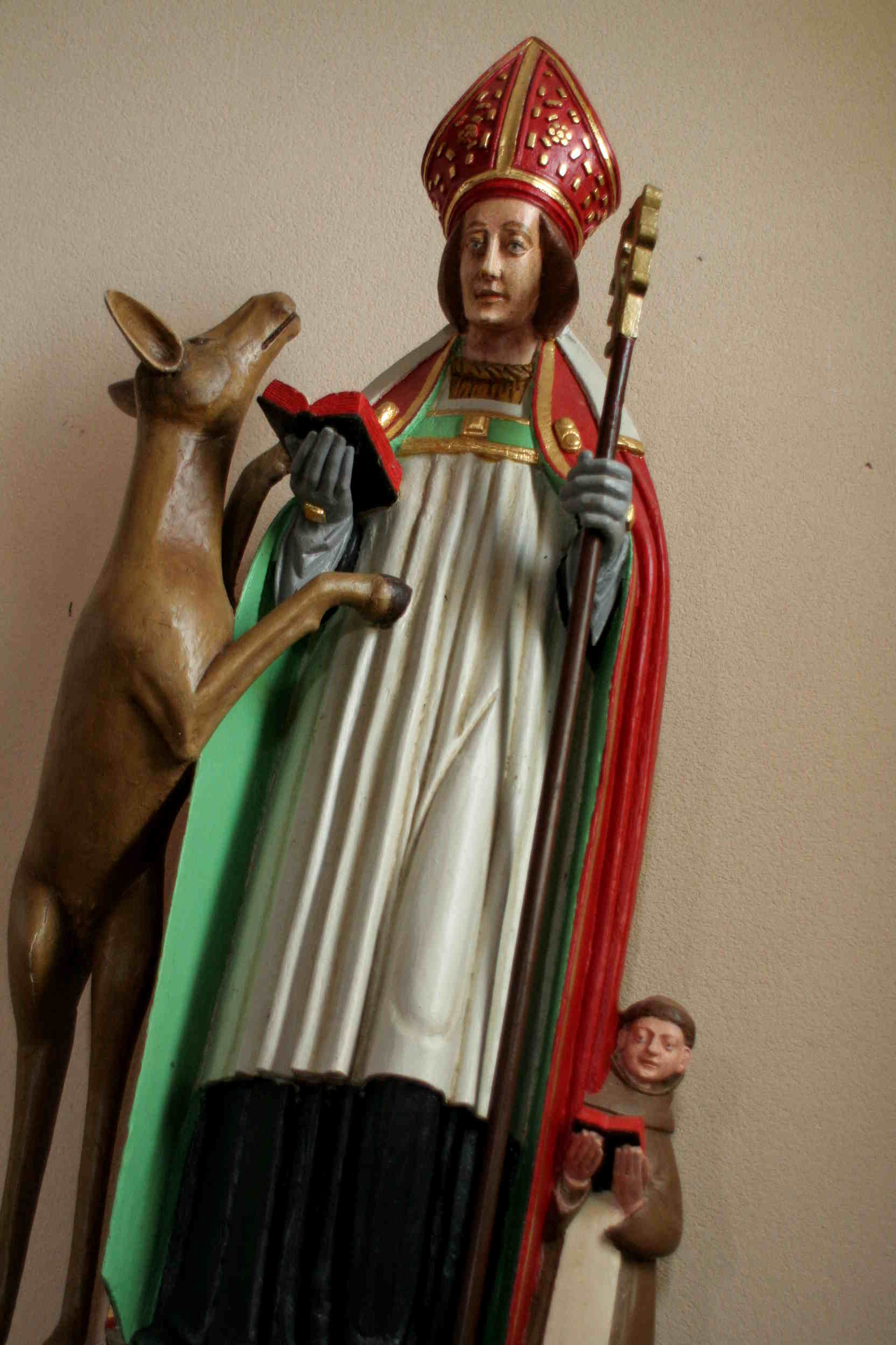 Statue de St Gilles