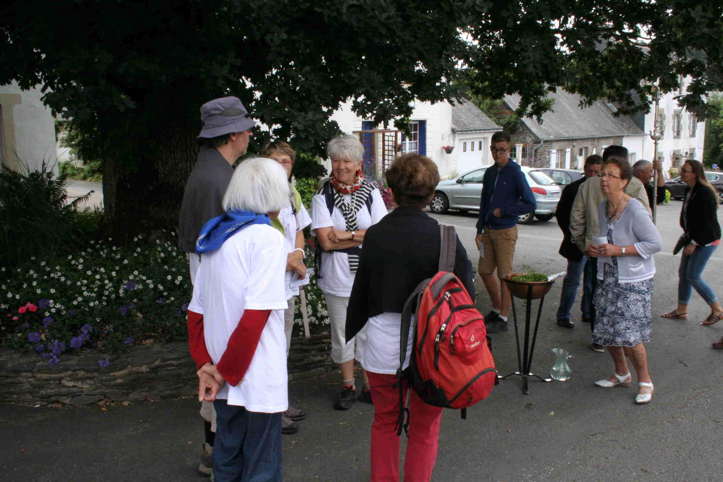 """Les """"Pèlerins de St Gilles du Gard"""" sont en visite"""