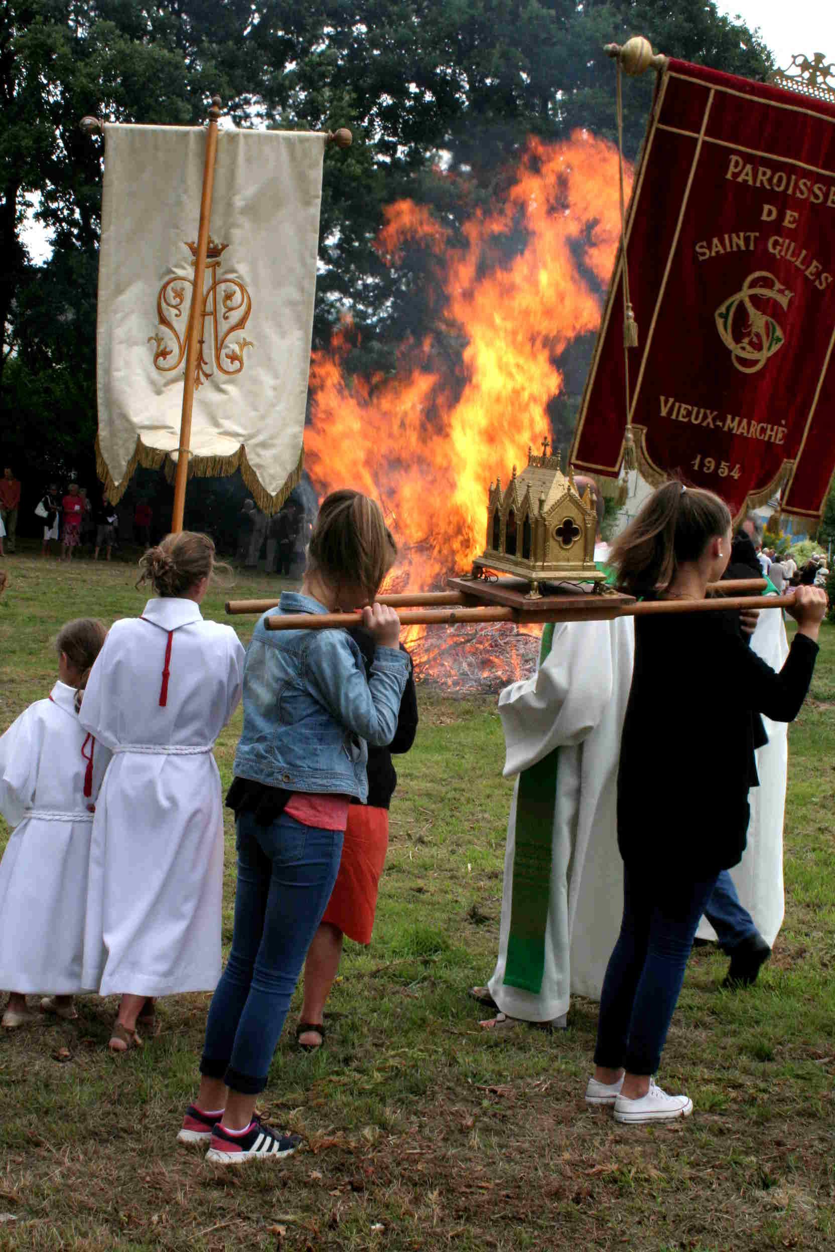Départ de la procession